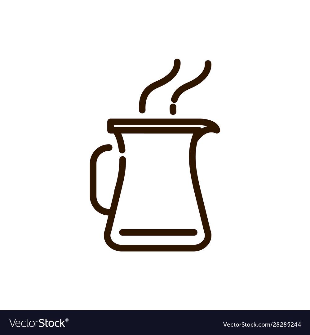 Jar hot coffee kitchen preparation line design