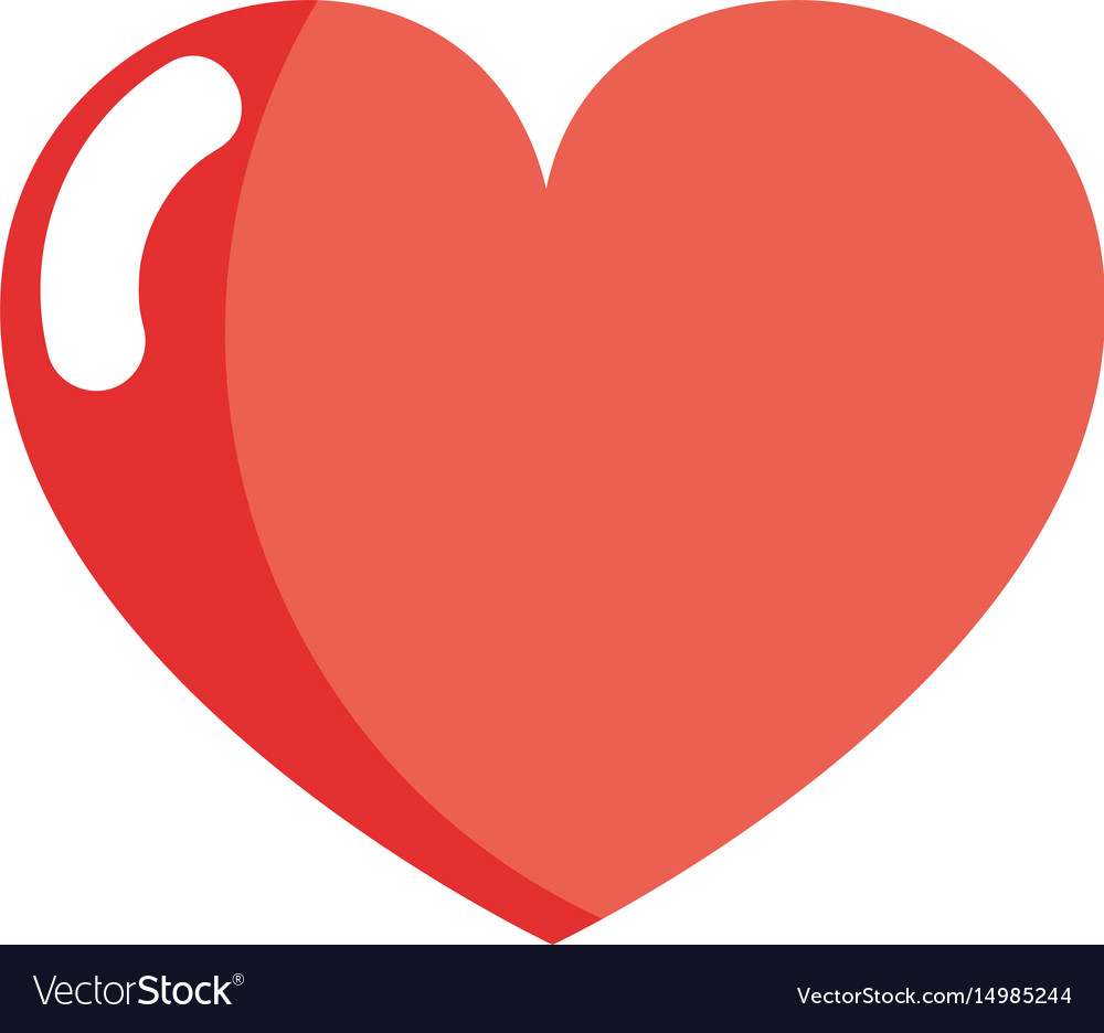 Nice Heart And Love Symbol Design Royalty Free Vector Image