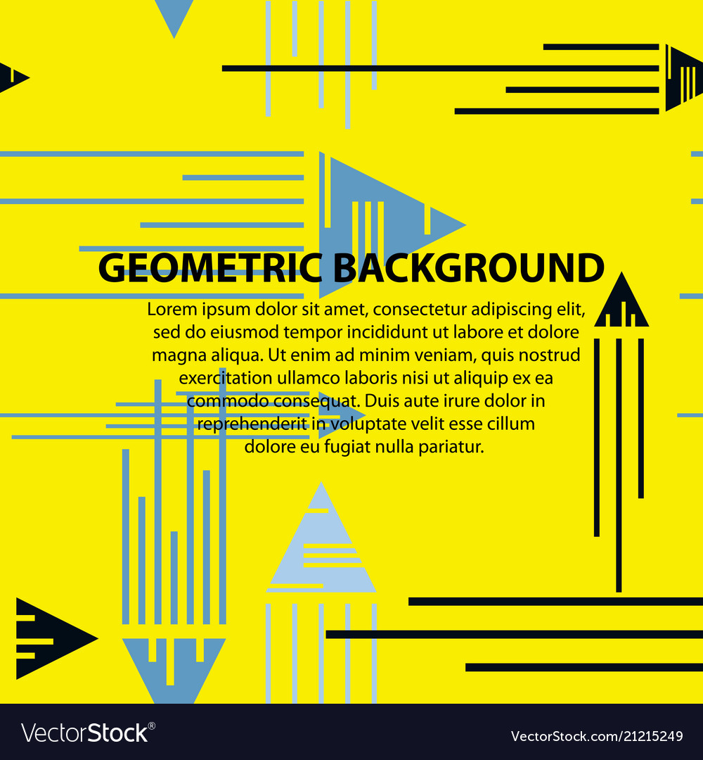 Abstract geometric pattern and background