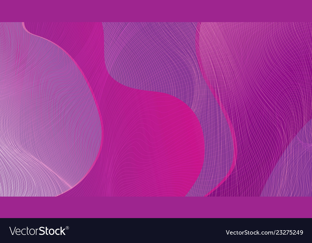 Abstract wave-shaped color background