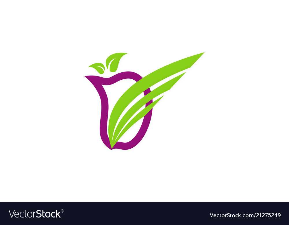 Fruit abstract logo