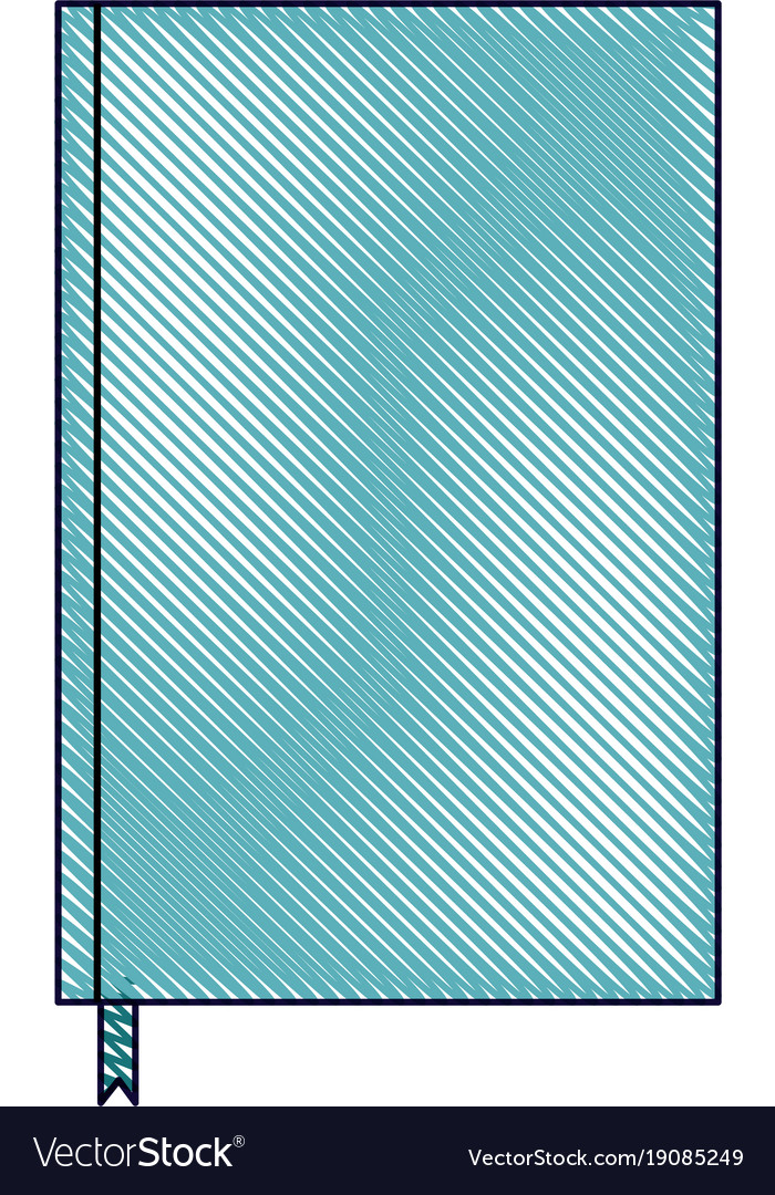 Notebook With Bookmark Template Blank Corporate Vector Image