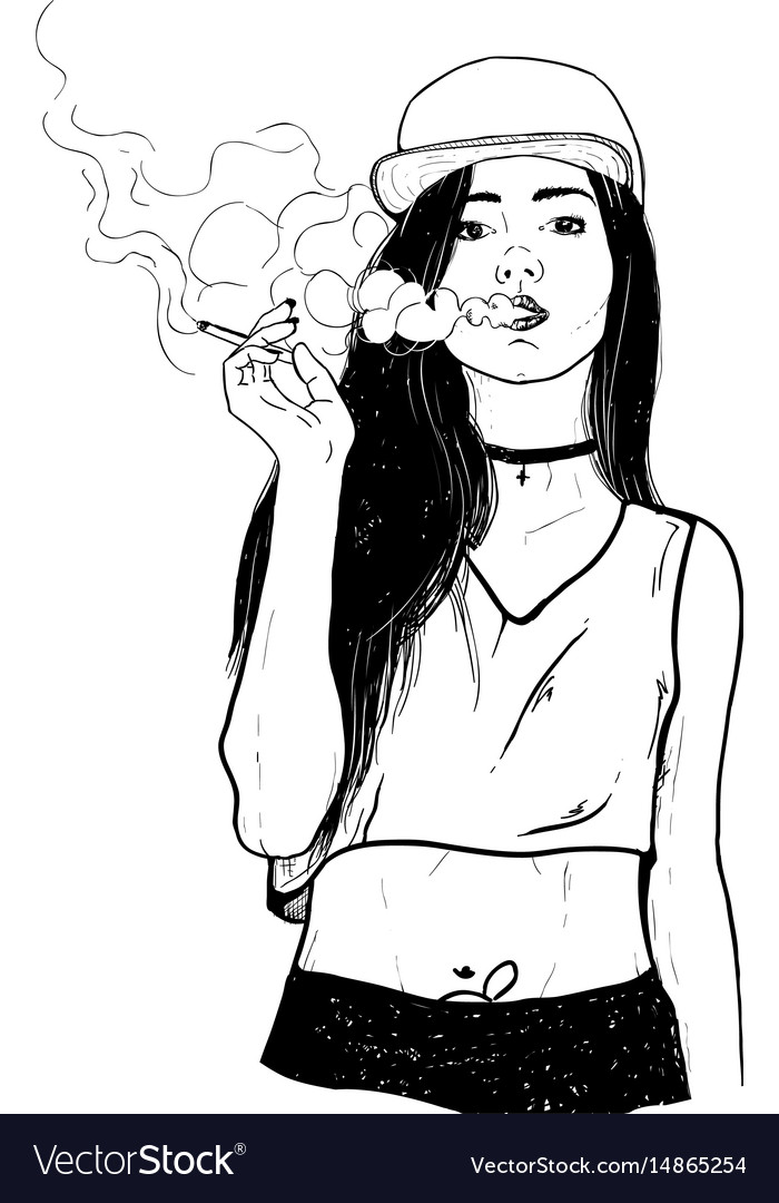 Girl Smoking-5103