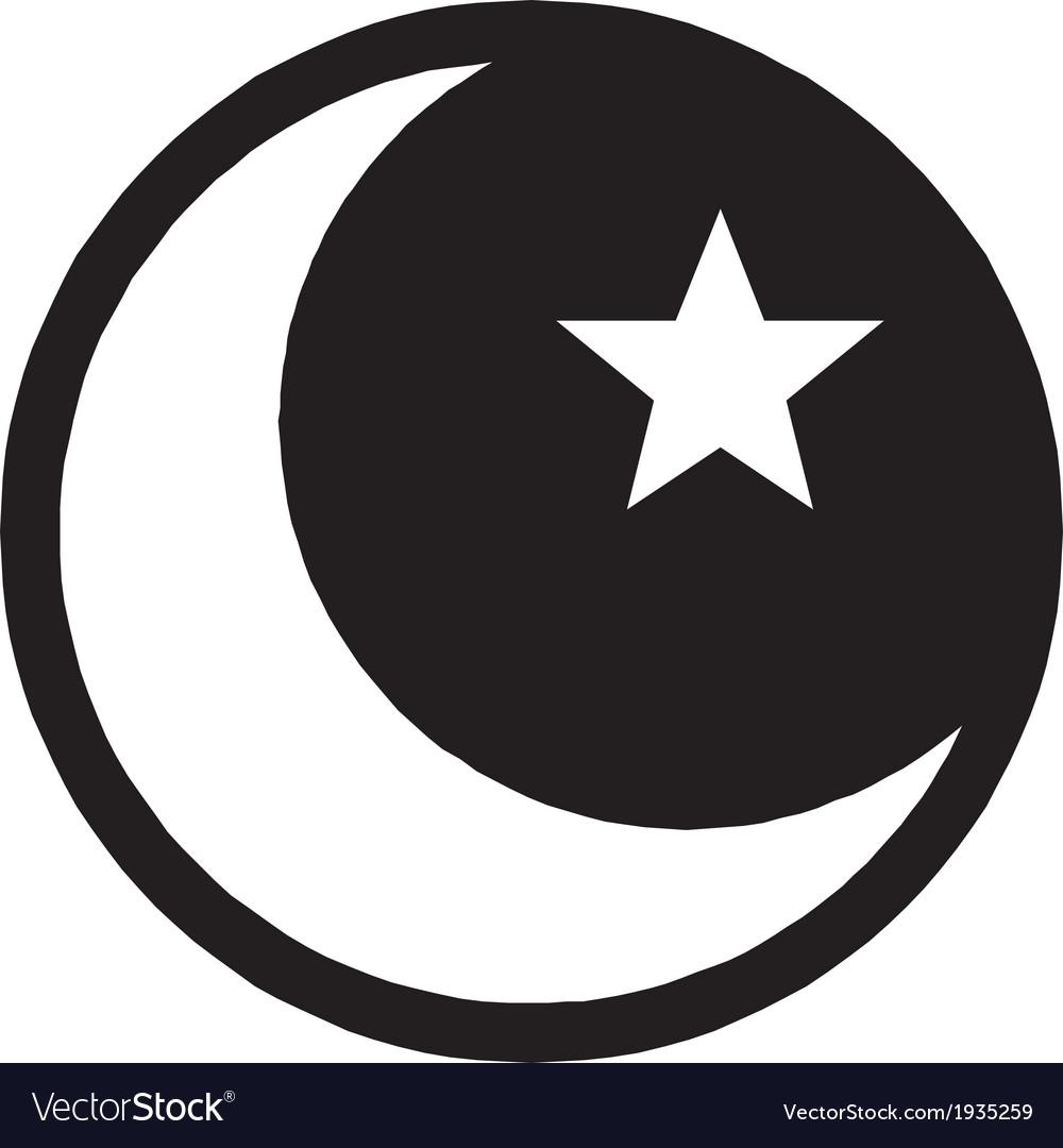 Islam symbol vector image