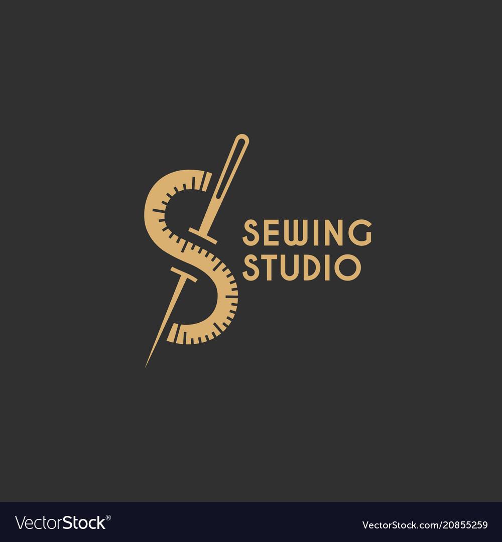 Sewing studio logo