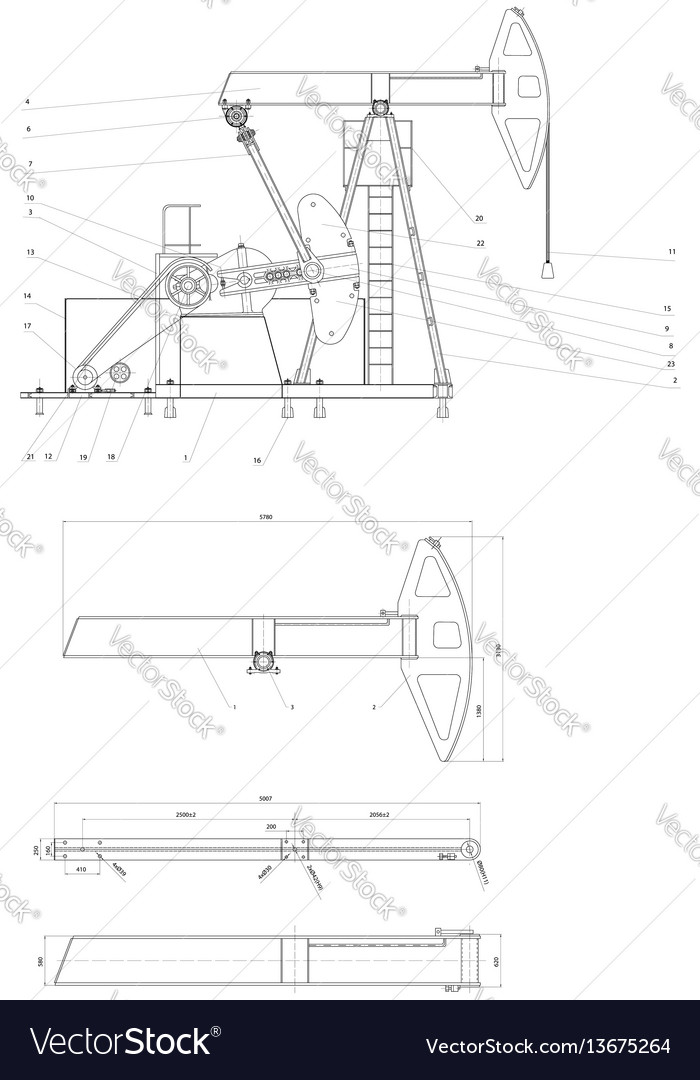 Drawing drive submersible oil pump plunger