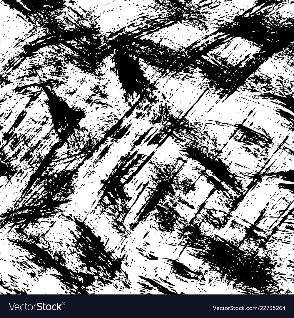 Grunge background black and white brush