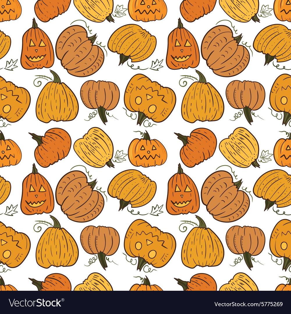 Funny Pumpkin Pattern