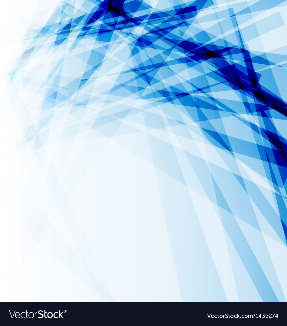 Blue business brochure abstract background