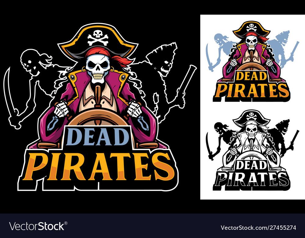 Dead pirates mascot