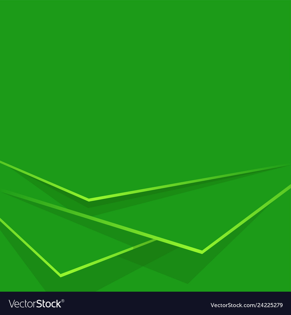 Abstract background green layers editable
