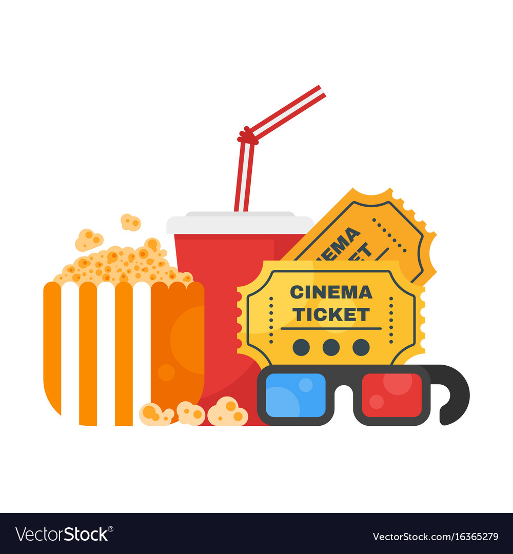 Movie design concept with cinema icons
