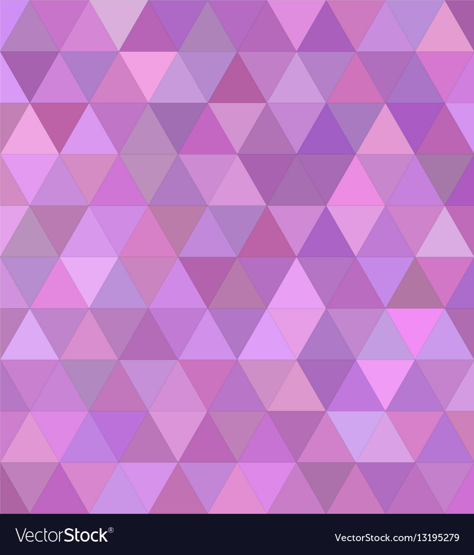 Pink triangle tile mosaic background design