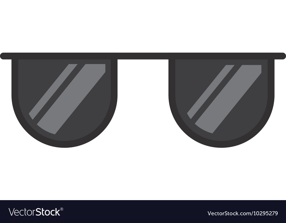 Sunglasses summer isolated icon