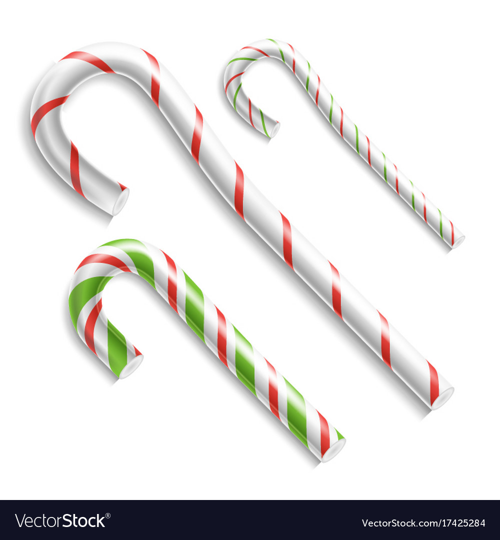 Candy cane christmas candy cane realistic