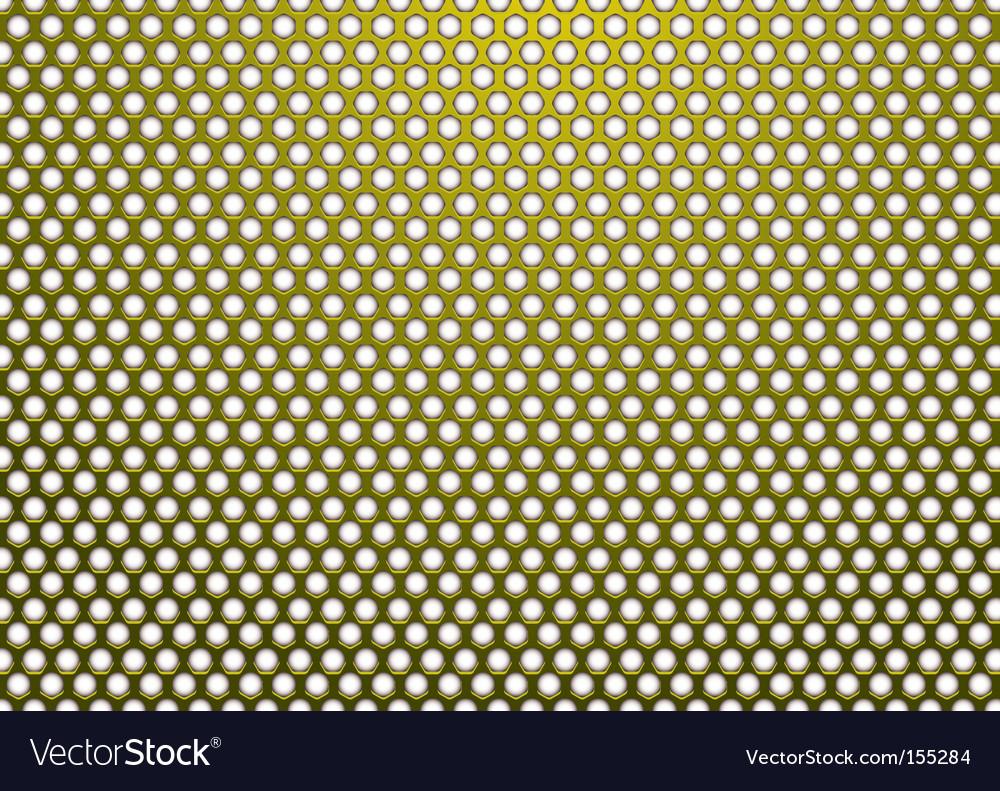 Hexagon abstract design