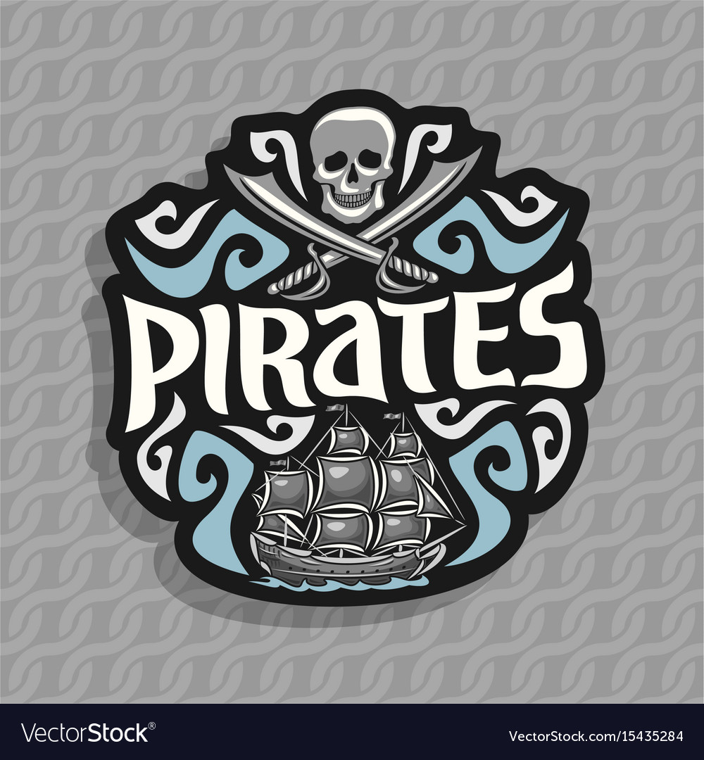 Logo for pirate theme