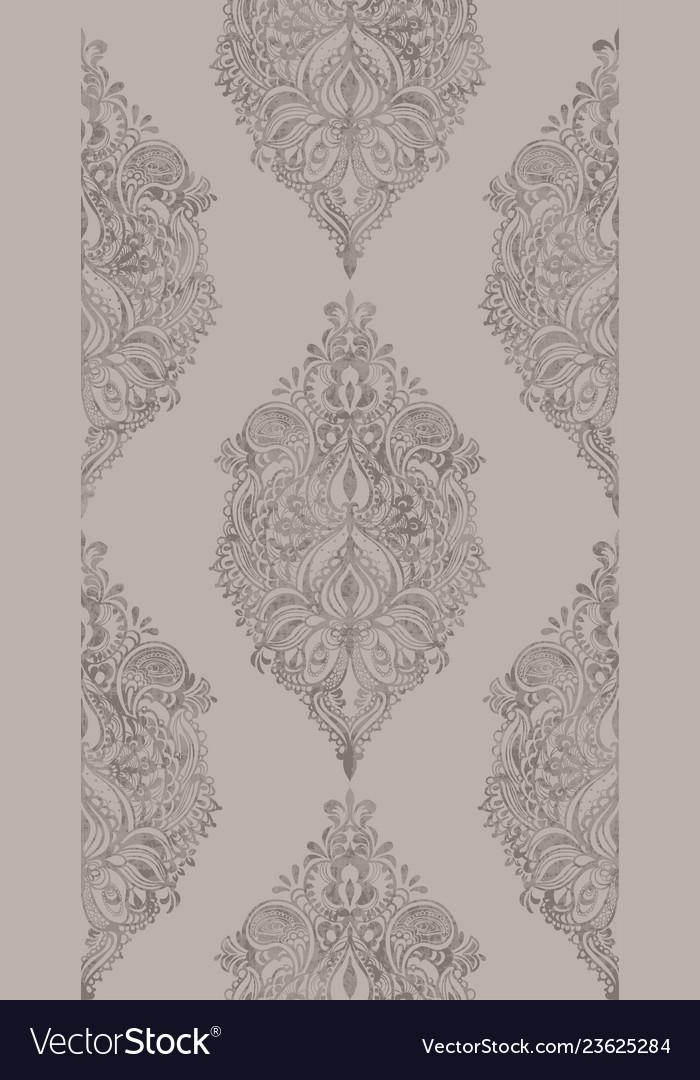Rococo pattern texture floral ornament