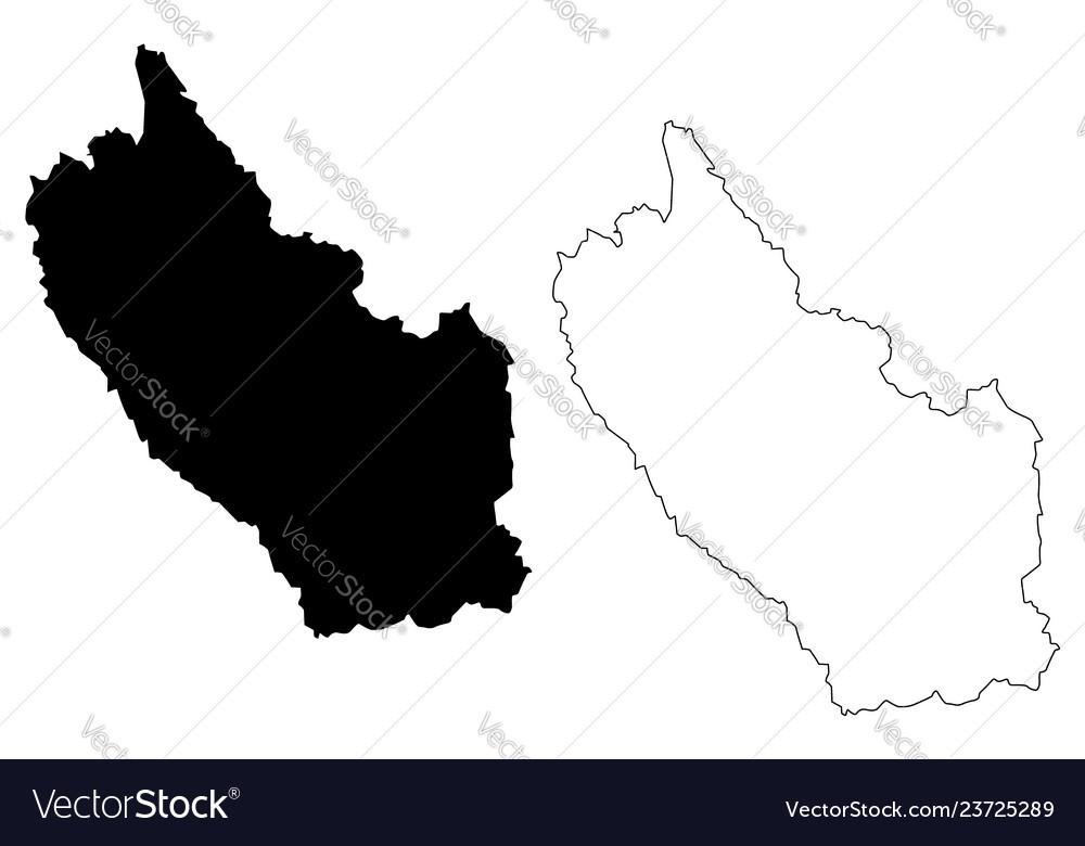 Kanchanaburi Thailand Map.Kanchanaburi Province Map Royalty Free Vector Image