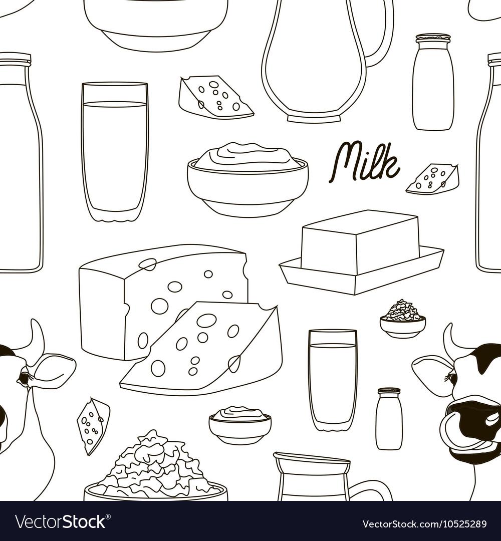 Milk set pattern