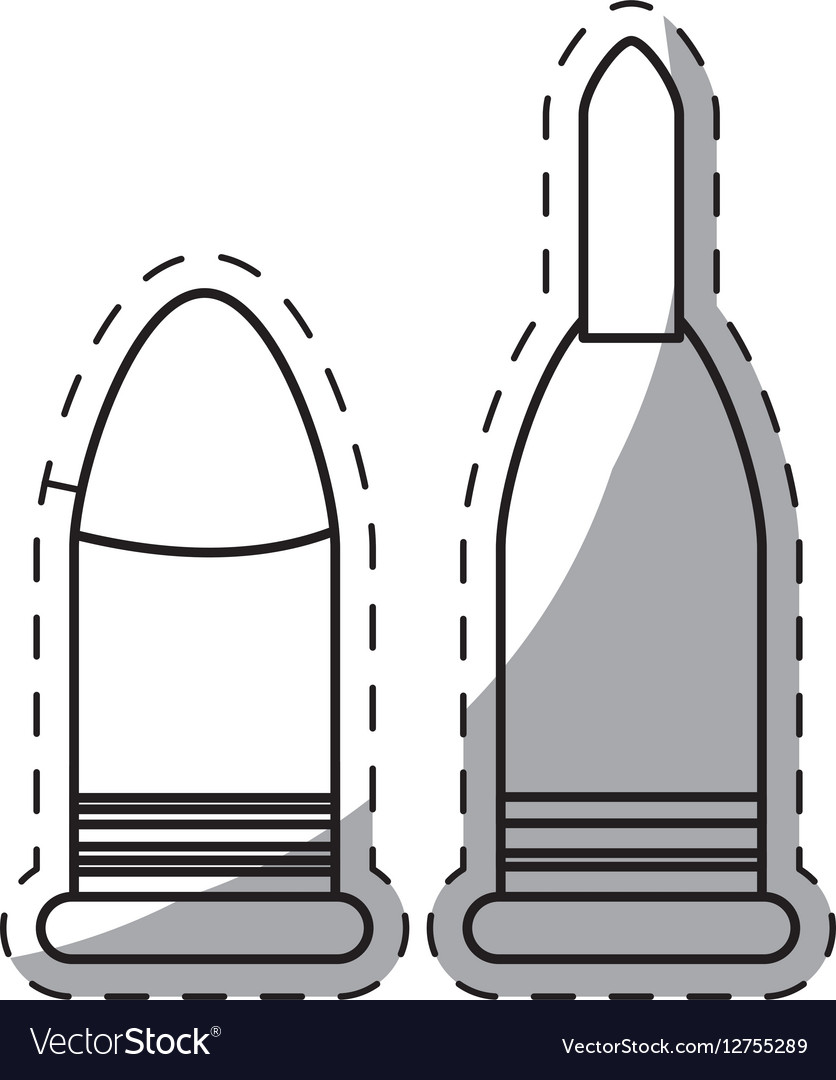 Weapon bullet icon image