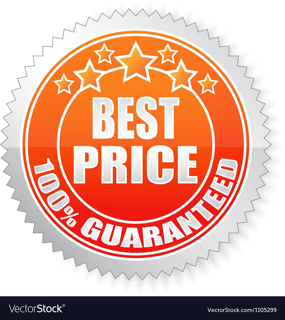 Best price vector image