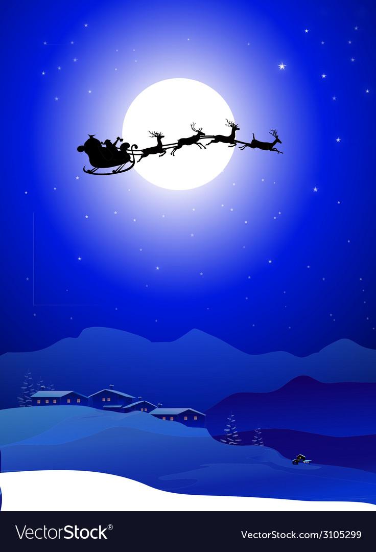 Santa with slaig