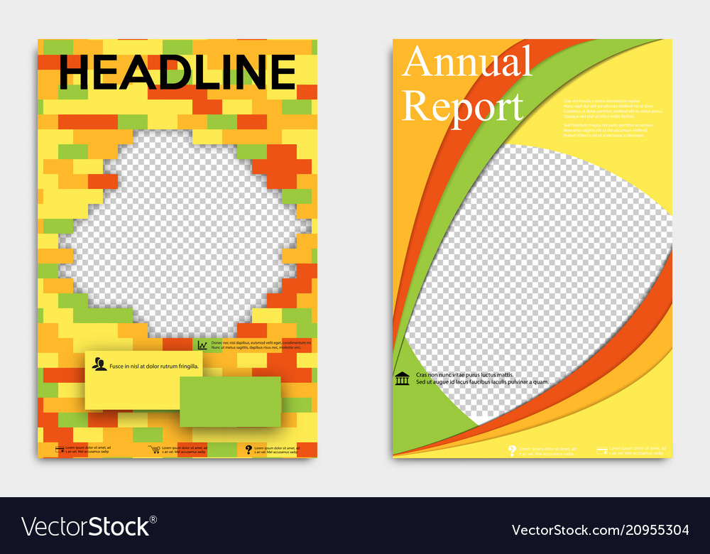 Corporate business stationery templates abstract vector image