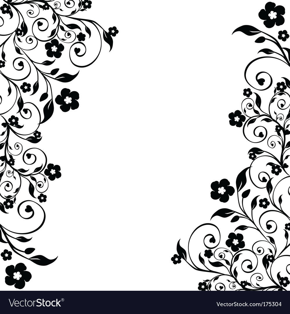 flower ornament royalty free vector image vectorstock