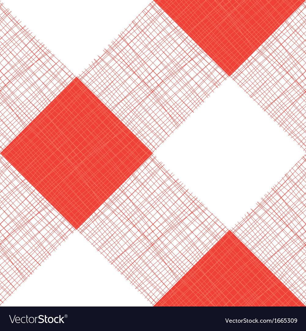 Seamless Picnic Tablecloth Pattern