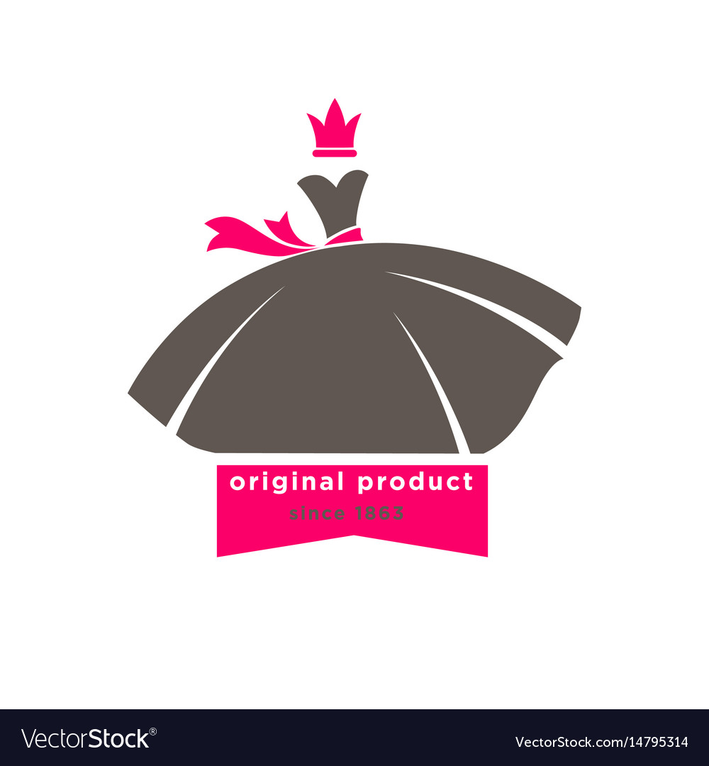 Original products designers boutique logotype with