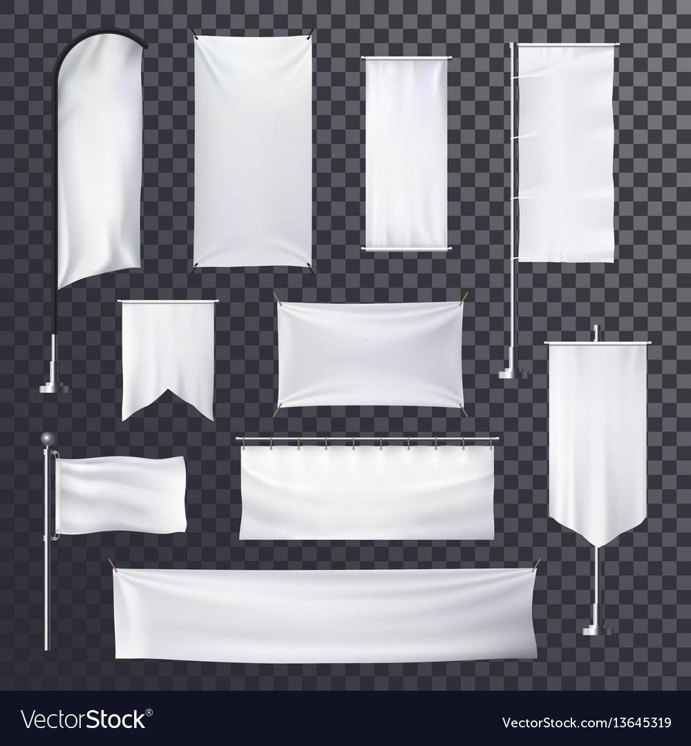 Billboard or advertising poster blank background vector image