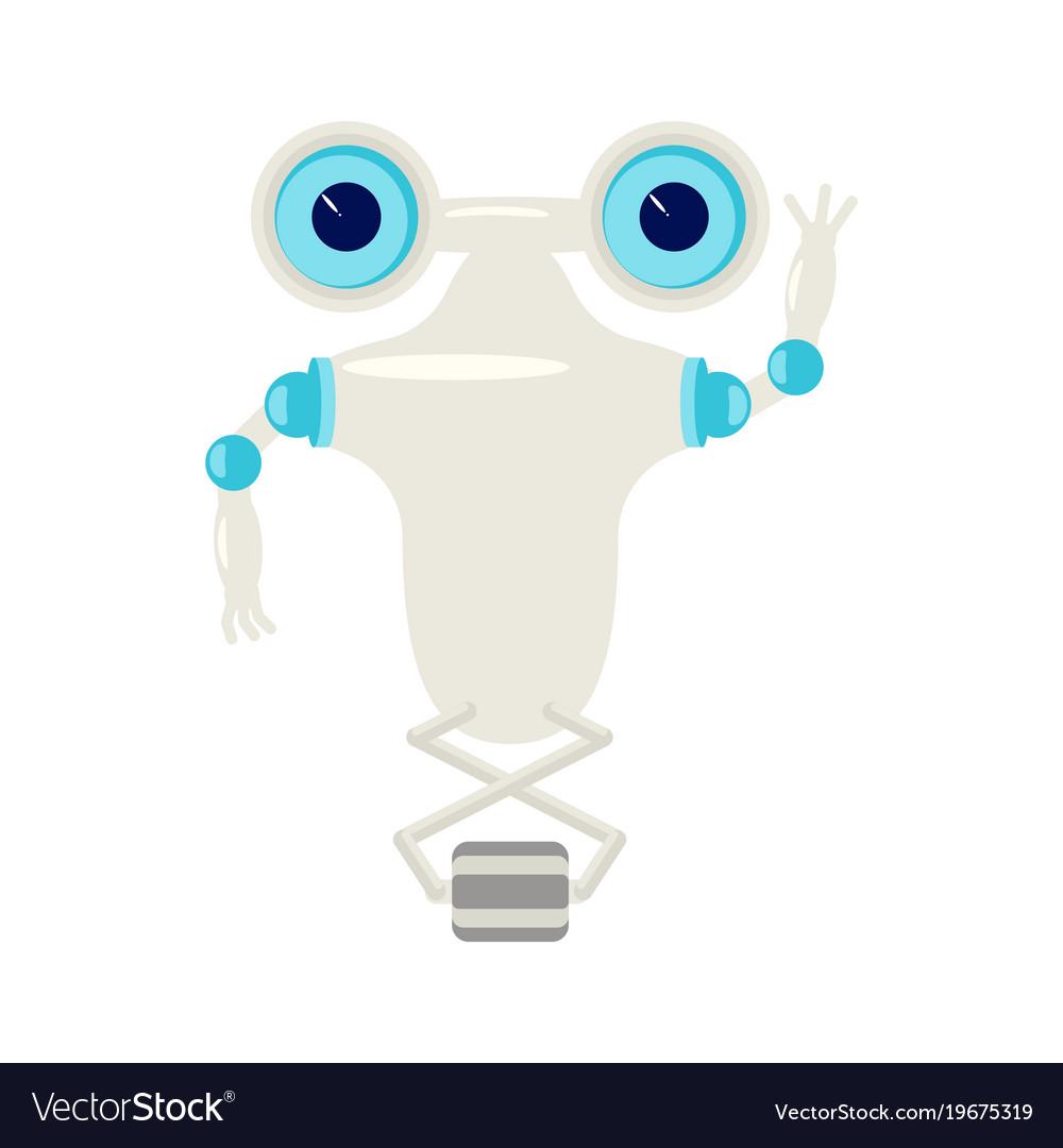 Cartoon cute chat bot