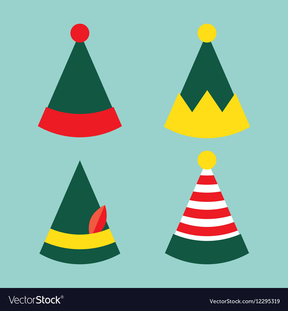 Collection of fun holiday elf hat
