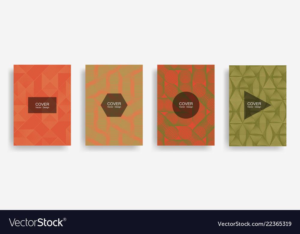 Halftone shapes minimal geometric covers