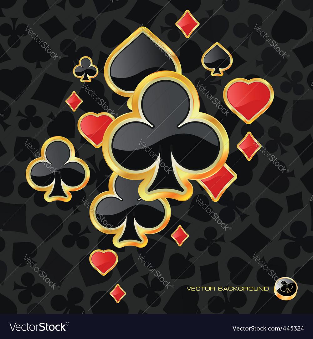 Card symbolic vector image