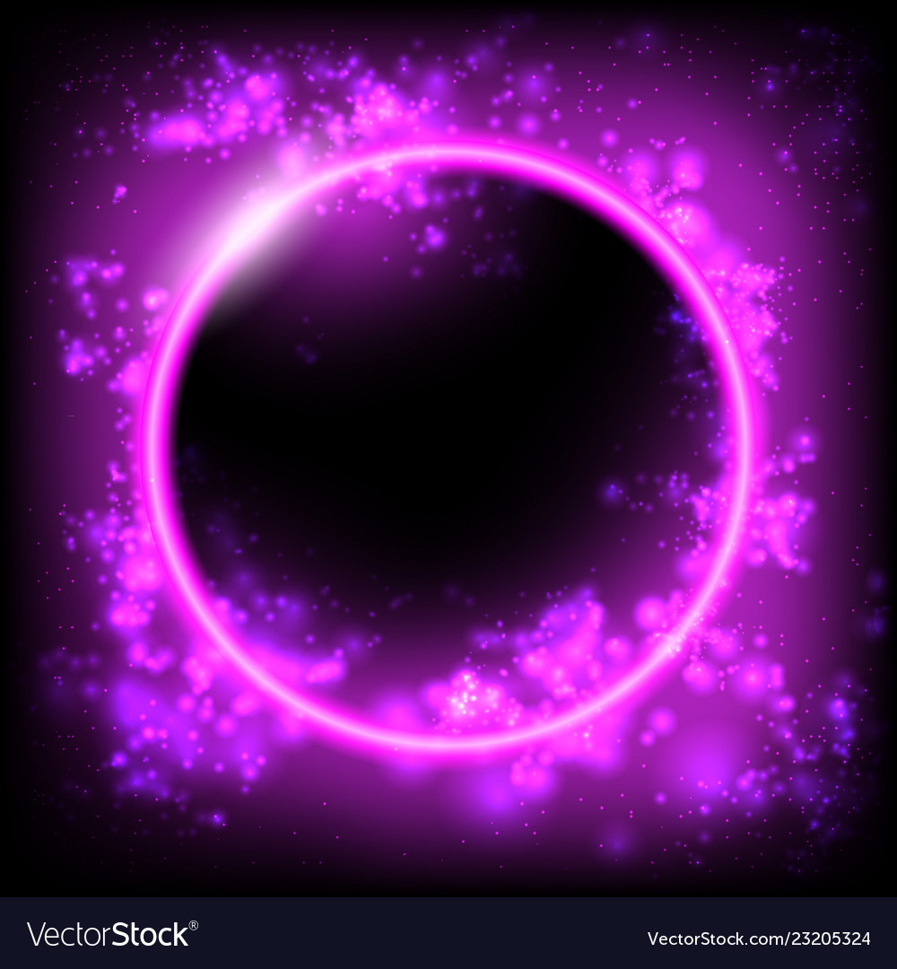 Space background planet black hole solar