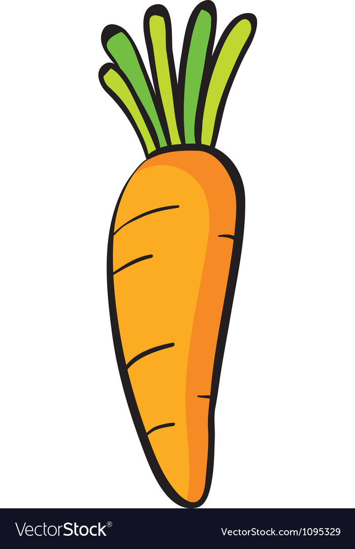 Рисунок морковки картинки