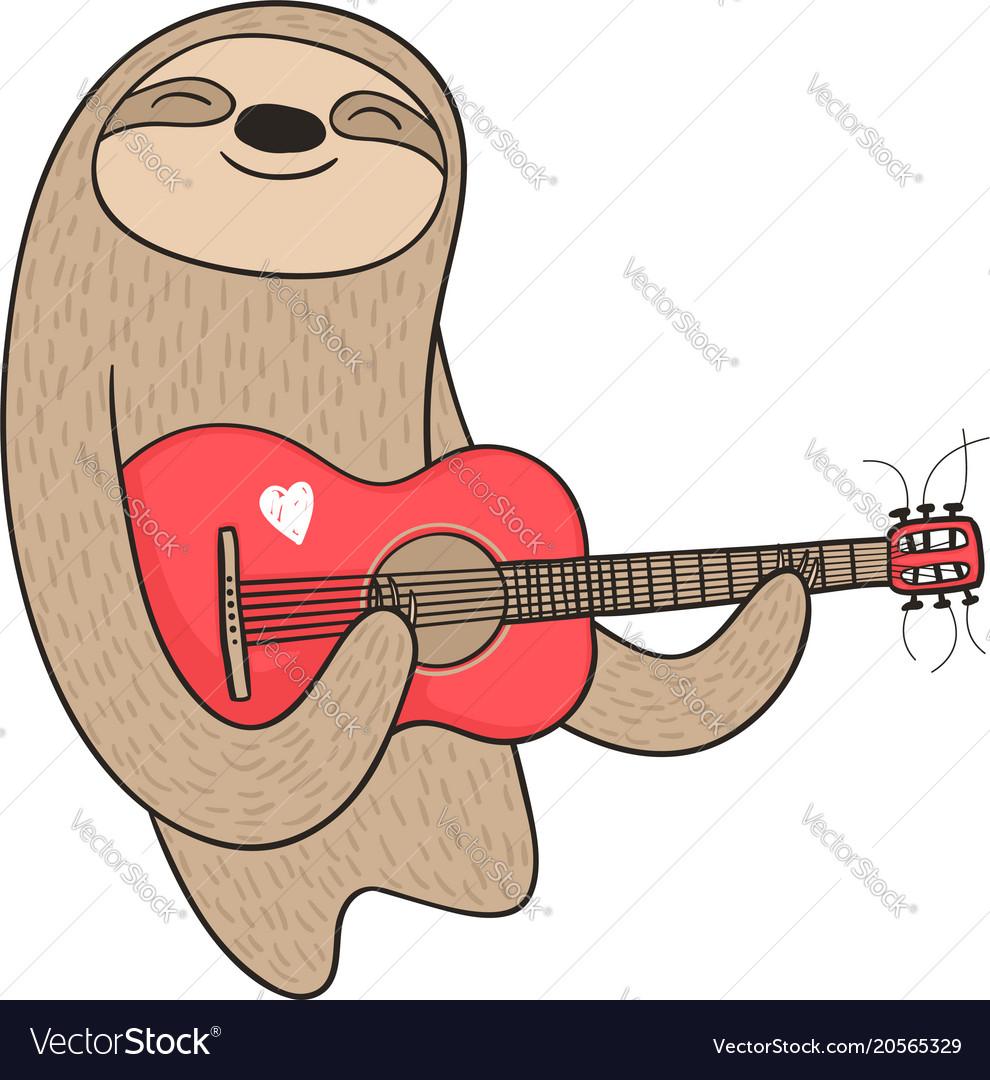 guitar cartoon pictures