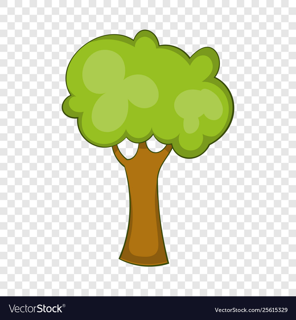 Green Tree Icon Cartoon Style Royalty Free Vector Image Cartoon tree transparent images (6,688). vectorstock