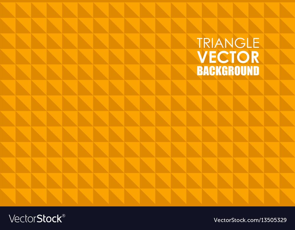 Orange triangle background