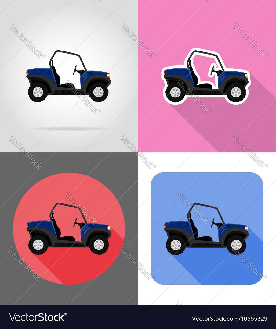 Transport flat icons 45