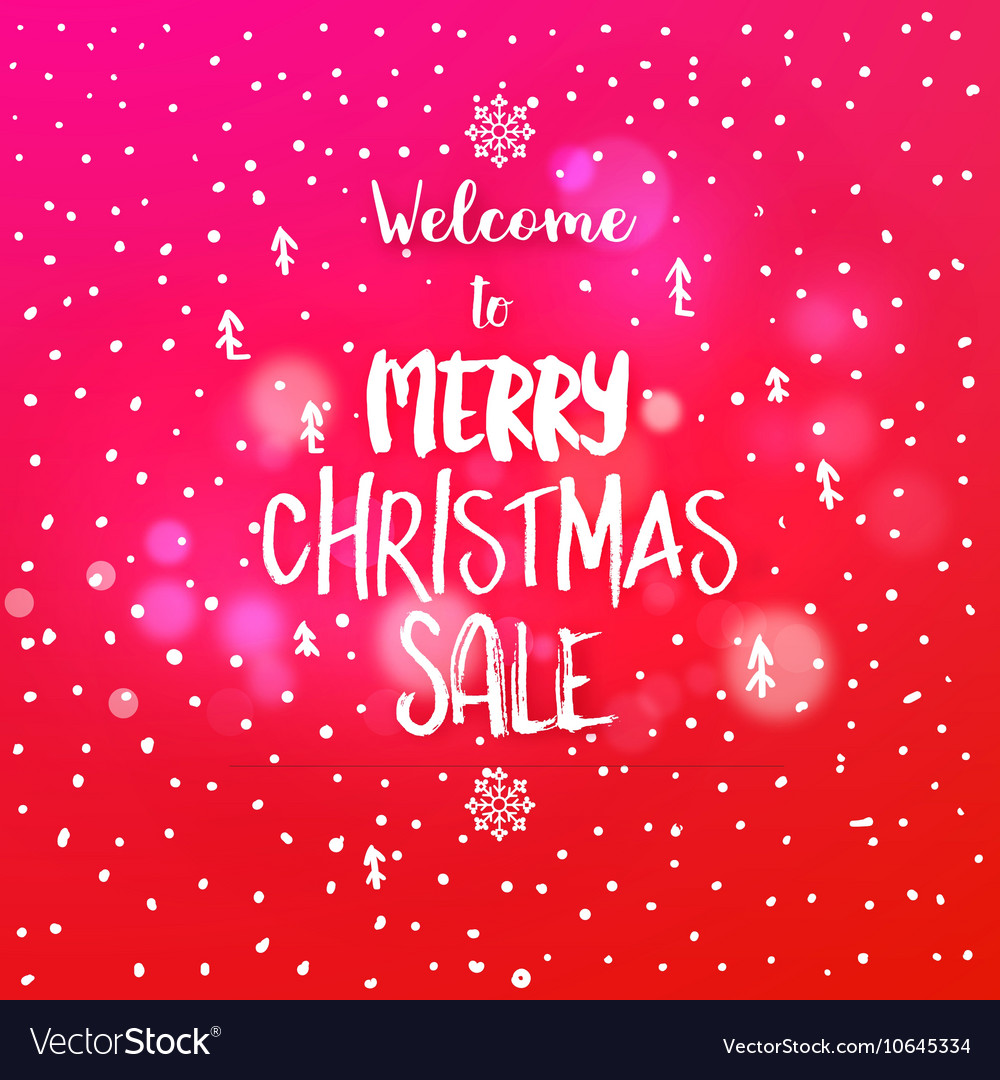 Christmas sale discount card