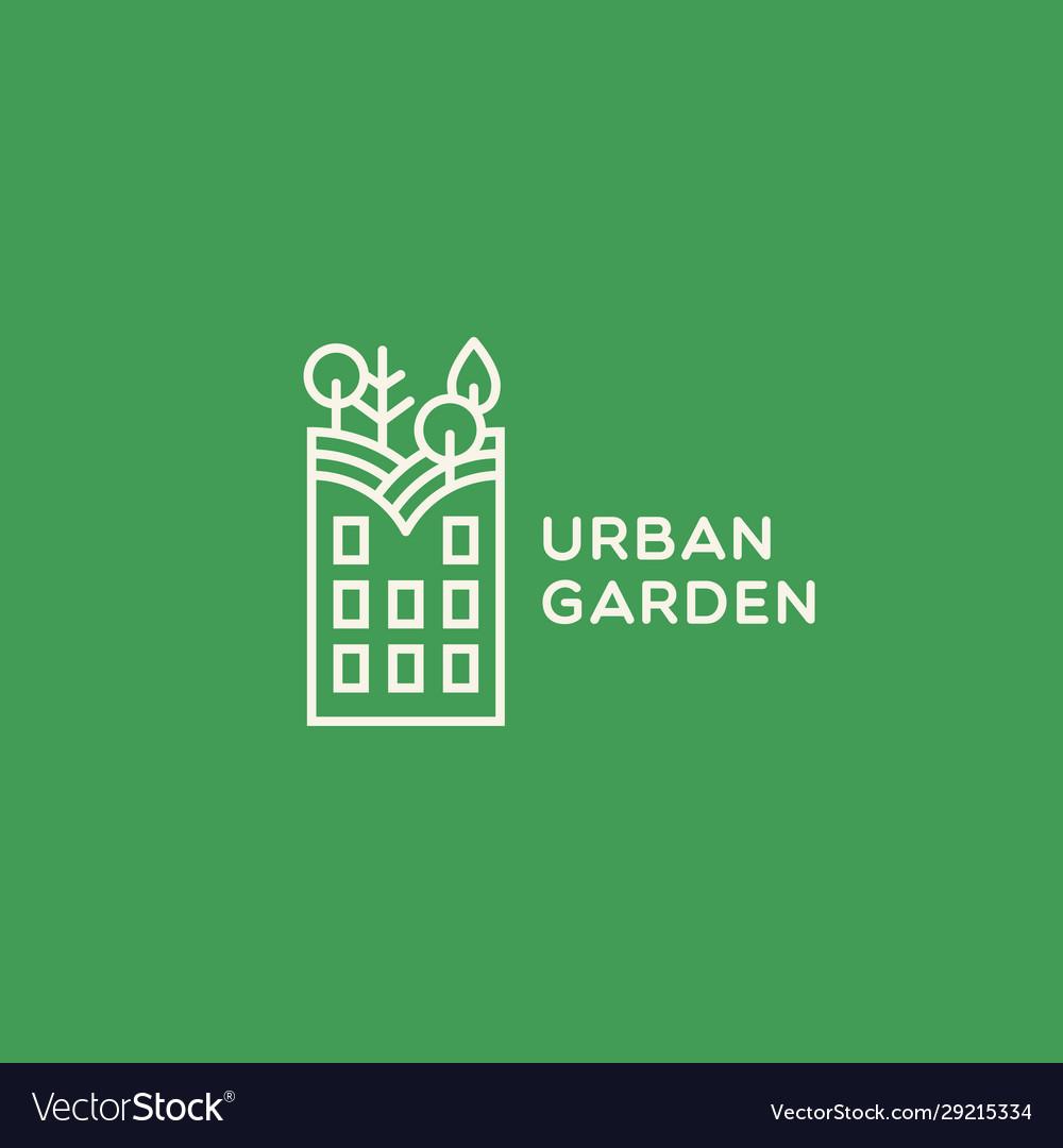Urban garden logo