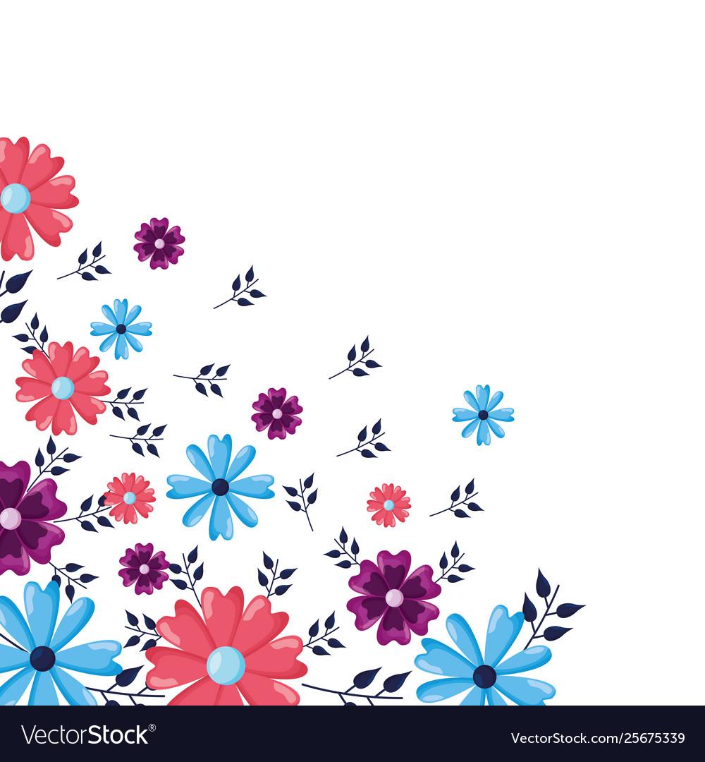corner decoration flowers royalty free vector image corner decoration flowers royalty free vector image