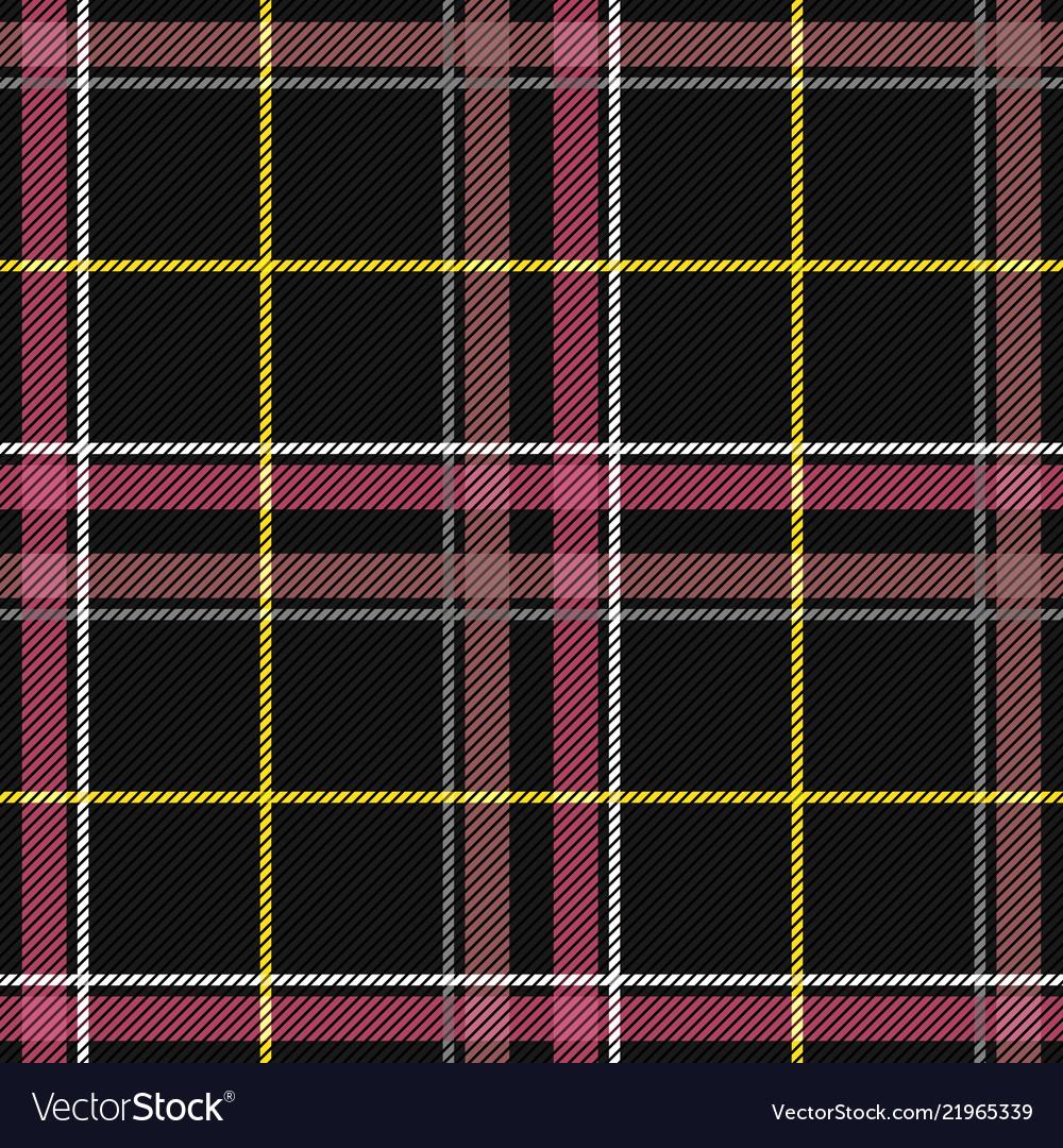 Scottish tartan checkered seamless pattern