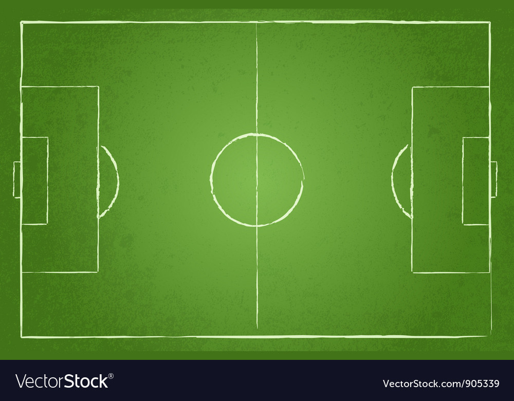 Soccer field background