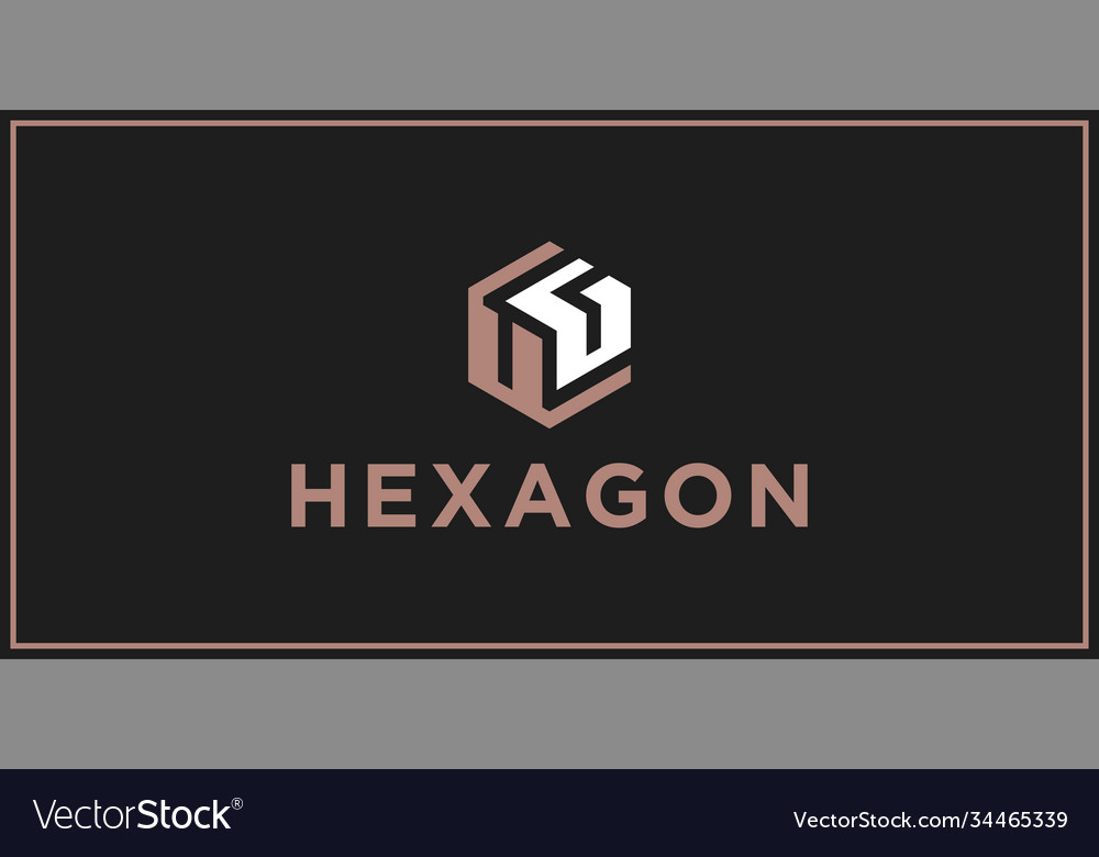 Ug hexagon logo design inspiration