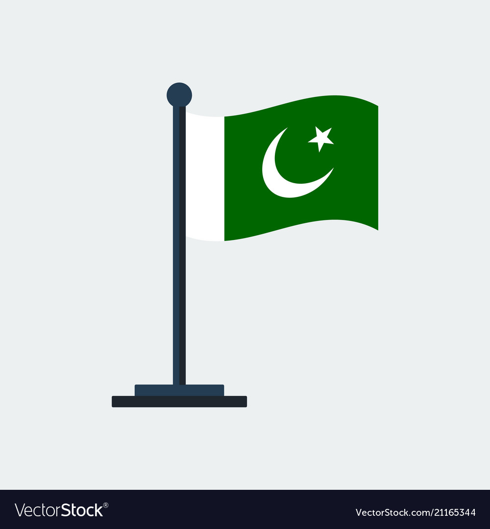 Flag of pakistanflag stand