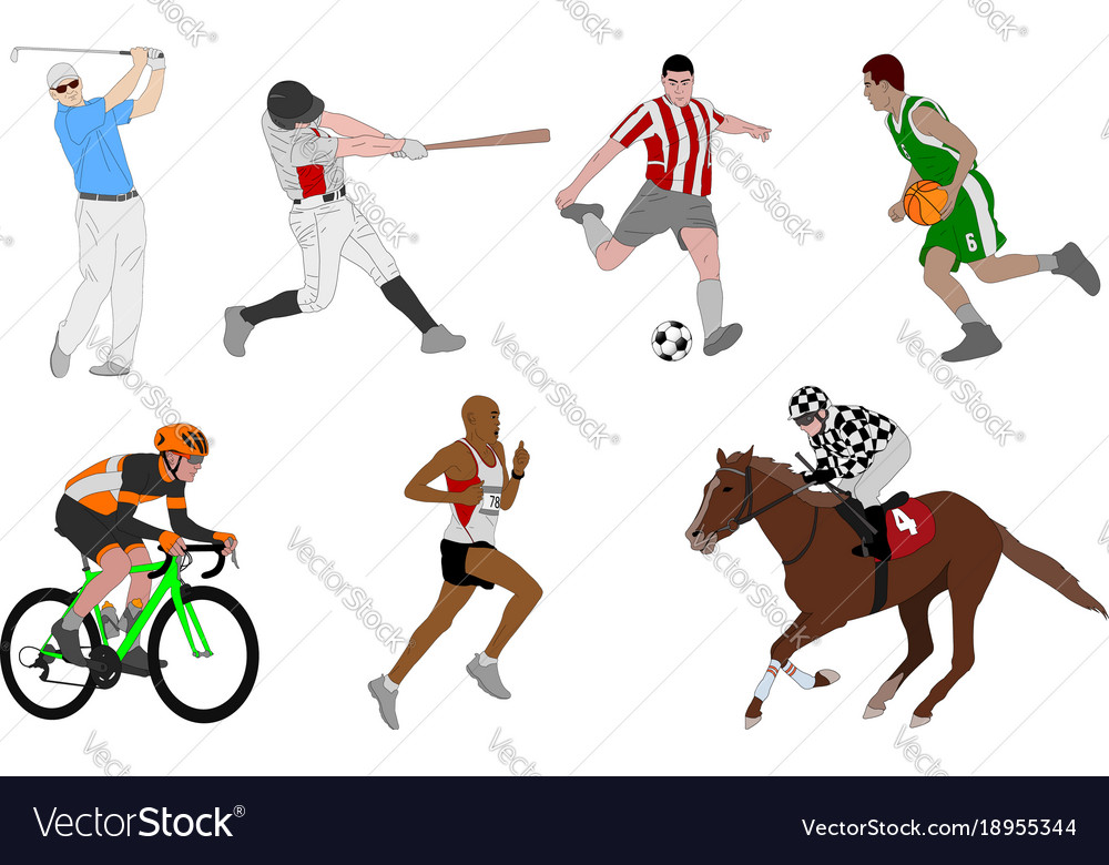 Various sports detailed